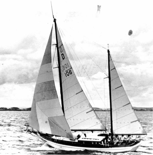 "The ketch ""Photina"""