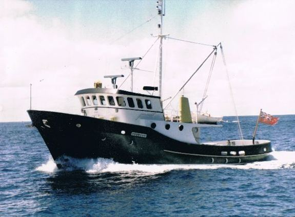 "The 67ft ""Hamal"" from 1970"